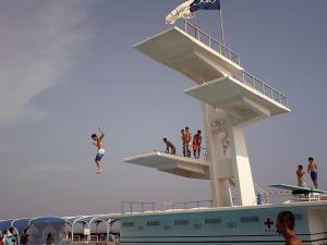 ロングビーチの大飛込み台