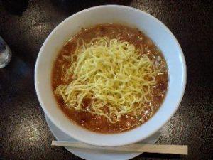 四川のタンタン麺