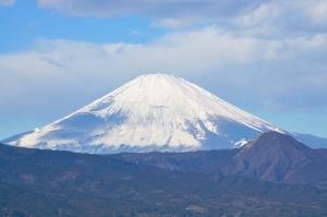 国府津山から望む富士